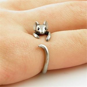 Jewelry - Cute Mouse Ring- Silver